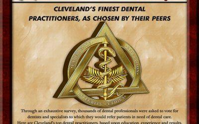 Dr. Roger Karp Award For One of Cleveland's Best Dentists